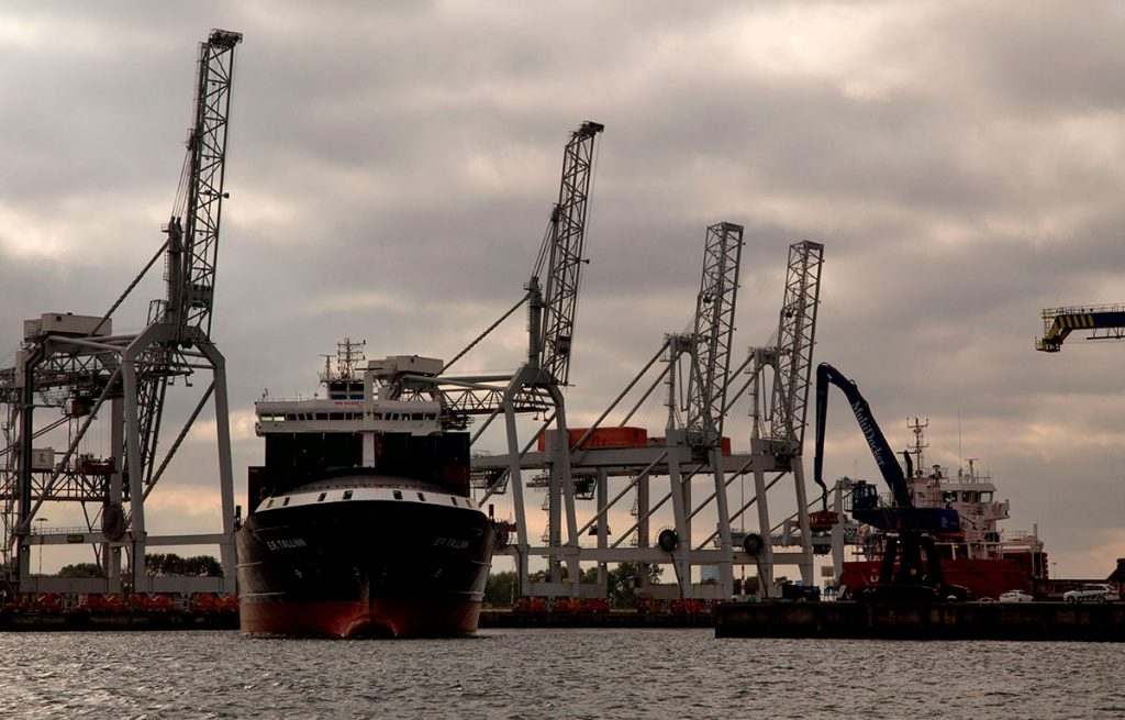 haven Rotterdam industrieel fotograaf