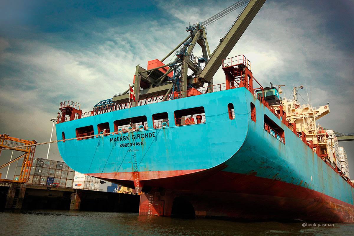 industrieel fotograaf havenfotograaf
