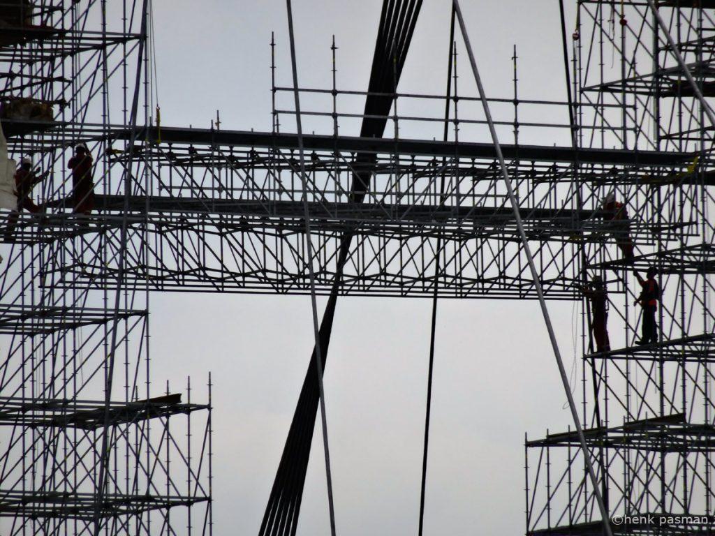 industriële fotografie willemsbrug rotterdam